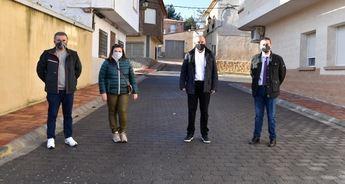 La Diputación de Albacete realiza obras de mejora en las calles de Hoya Gonzalo