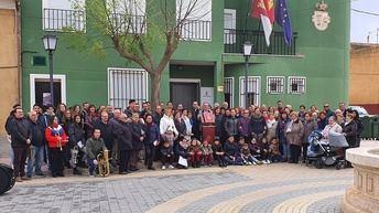 Acto en Hoya Gonzalo (Albacete) para conmemorar 41 años de la Constitución Española
