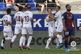 El Albacete Balompié ganó en Huesca con un gol de penalti (0-1)