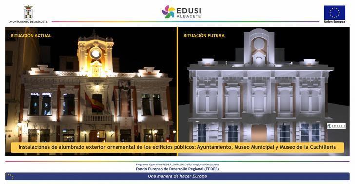 Ayuntamiento de Albacete, Museo Municipal y de la Cuchillería ofrecerán una renovada iluminación