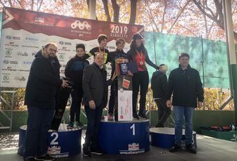 725 ciclistas en la VIII edición de la BTT 'Ciudad de Albacete' que ganaron Alfonsi Villar y Óscar Carrasco