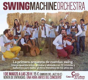 """Swing Machine Orchestra presenta """"Melodías Prohibidas"""" como homenaje a las orquestas de jazz"""