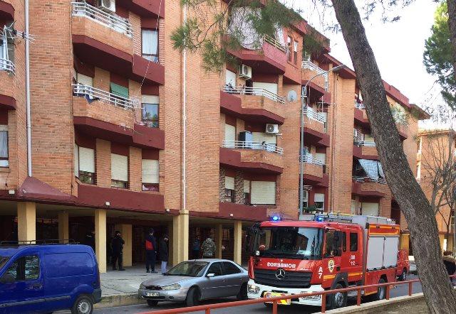 Una mujer resultó afectada por inhalación de humo en un incendio en 'las seiscientas', en Albacete