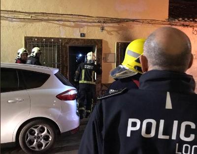 Desalojada una persona por un incendio en la calle Montesa de Albacete