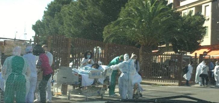 Arranca la remodelación del hospital de Hellín, y continúa la reparación de la zona afectada por el fuego
