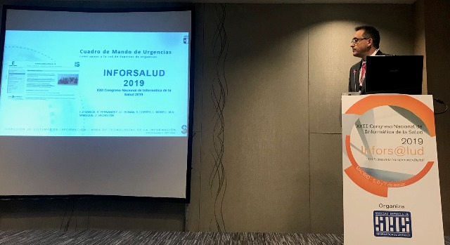 Profesionales del SESCAM asisten al Congreso de Informática de la Salud para abordar la transformación digital