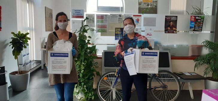 Elche de la Sierra inicia una campaña para garantizar las mascarillas a toda la población