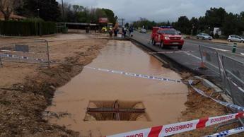 La Confederación Hidrográfica del Júcar ejecuta obras en Chinchilla para evitar inundaciones en Albacete