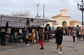 El mercado de 'Invasores' de Albacete no cambia de fechas pese a las festividades de Navidad