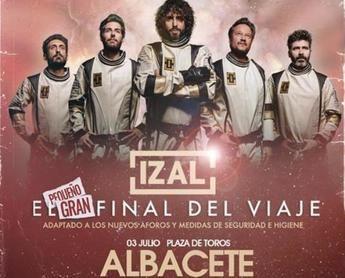 Izal llenará de música la plaza de toros de Albacete este sábado como cierre de su 'Gira Autoterapia'