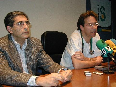 Jesús López-Torres Hidalgo (a la izquierda) acompañado en esta imagen de archivo por Pedro Abizanda Soler