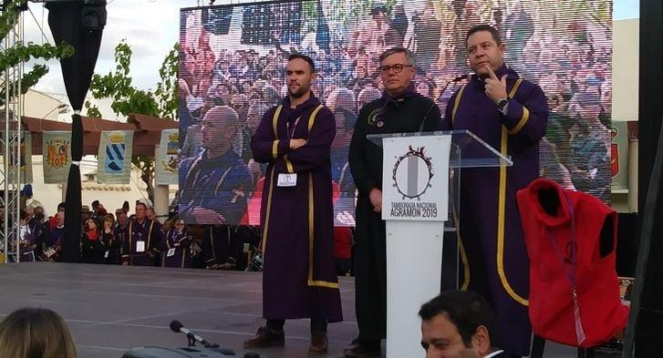 Miles de personas se dan cita en las Jornadas Nacionales de Exaltación al Tambor y el Bombo en Agramón (Hellín)