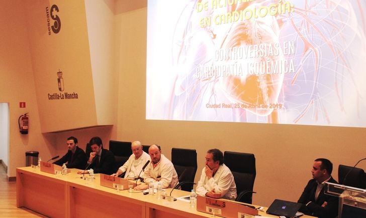 Cardiólogos de toda España debaten en el Hospital de Ciudad Real las controversias en el abordaje de la cardiopatía isquémica