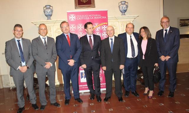 Jornada sobre el Urbanismo y la Seguridad Jurídica en Albacete, organizadas por el Colegio Notarial de Castilla-La Mancha