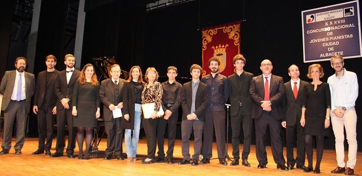 Entregados los premios a los ganadores del Concurso de Jóvenes Pianistas 'Ciudad de Albacete'