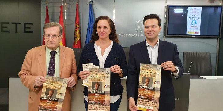 Presentada la XXXIX edición del Concurso de Jóvenes Pianistas Ciudad de Albacete