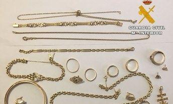 Cuatro detenidos de entre 31 y 34 años, por robar joyas y dinero en varias viviendas de Ciudad Real