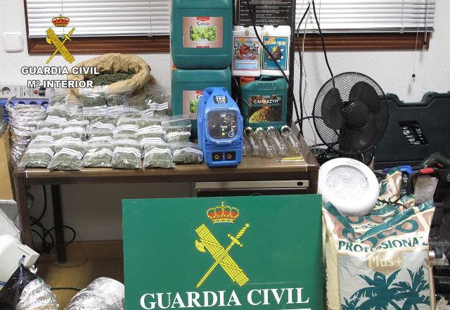 Detenido un vecino de 62 años de Alatoz (Albacete) por tráfico de drogas
