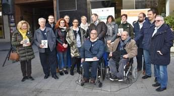 Presentado en Albacete DisOrganic, un símbolo con el que Cocemfe busca visibilizar a sus usuarios en la sociedad