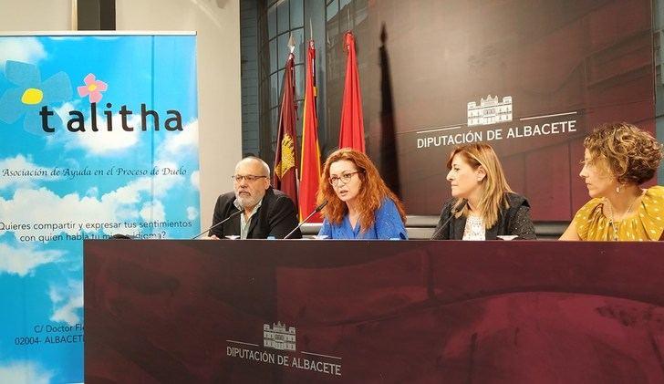 La Diputación de Albacete, escenario de la presentación de la asociación de ayuda Talitha