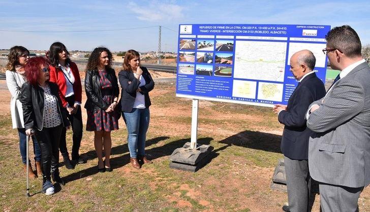 La Junta de Castilla-La Mancha invierte 50 millones en 81 kilómetros de carreteras de Albacete