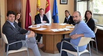 Reunión de la junta de portavoces el pasado viernes.