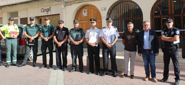 La Junta Local de Seguridad analiza los planes de autoprotección para la próxima Feria de Hellín