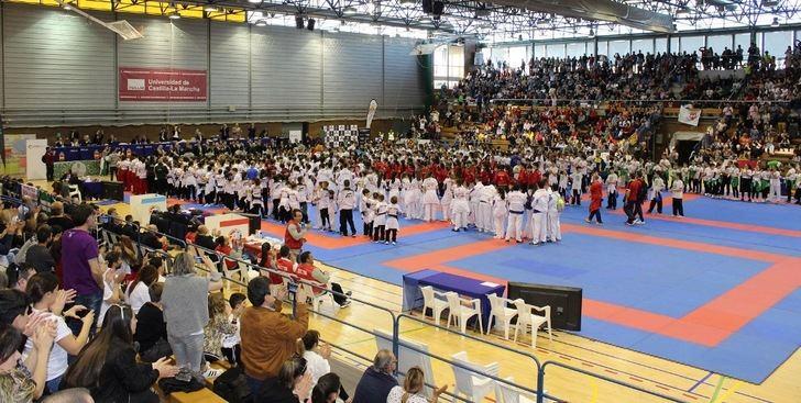 Última jornada del Campeonato de España de Kárate infantil que se celebra en Albacete