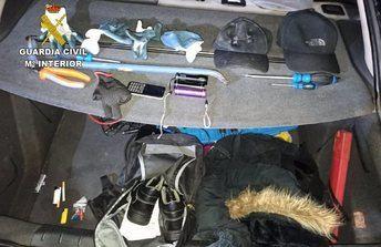 Cuatro detenidos de una banda especializada en cometer robos rápidos en camiones en Toledo y Madrid