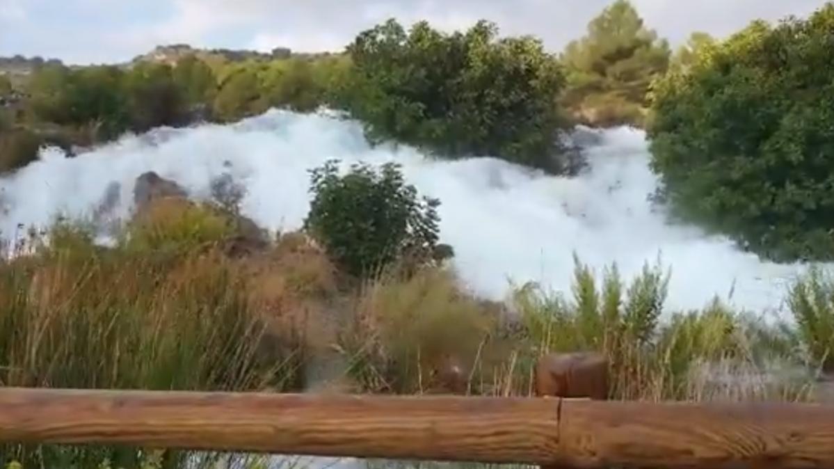 Las Lluvias Provocan Una Espectacular Crecida De Las Lagunas De Ruidera Albaceteabierto