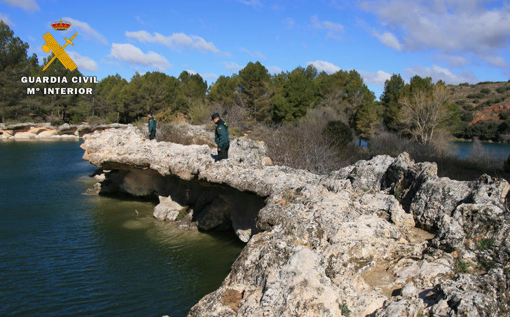 La Guardia Civil refuerza la vigilancia en las Lagunas de Ruidera durante todo el verano