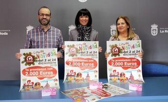 La campaña de Navidad del comercio de La Roda ofrece 2.000 euros en premios