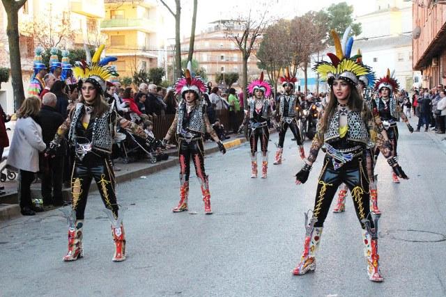 El carnaval de 2019 de La Roda se cierra con premios para Trapisondas, Fantasía, Andorretas, Soletes y El tío de la gota