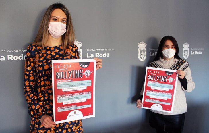 Talleres familiares, concurso de eslóganes y exposiciones protagonizan las jornadas contra el 'bullying' en La Roda