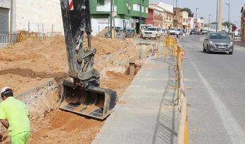 La Roda (Albacete) invierte 40.000 euros en parte del saneamiento de la Avenida Felipe VI