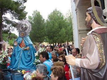 La Roda se prepara para recibir a su patrona, la Virgen de los Remedios, de su santuario de Fuensanta