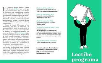 El Programa 'Lectibe' celebra encuentros telemáticos con escritores de referencia para los jóvenes lectores de Albacete