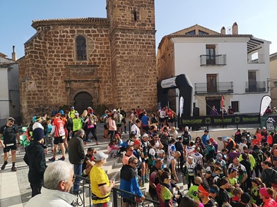 Jesús Ángel Rodríguez se impuso en la 'fiesta del trail', en la carrera de Letur