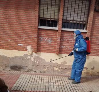 Desinfectada la residencia de Toledo tras registrar 45 positivos y ayuda para la de Illescas con 99 contagiados