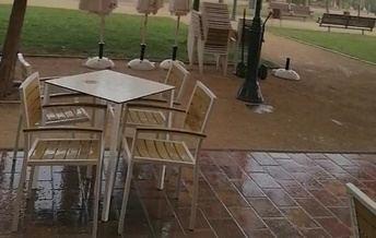Las tormentas provocaron incidencias en diversos lugares de Castilla-La Mancha