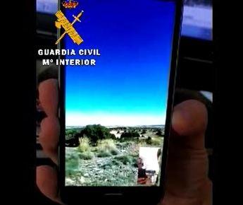La Guardia Civil localiza a una invidente que se había desorientado en un paraje de Pozohondo (Albacete)