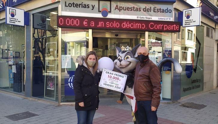 10,000 euros para el acertante de Albacete del Joker de la Primitiva