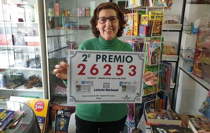 Vendido en Minaya (Albacete) el 26.253, segundo premio de la Lotería Nacional del sábado