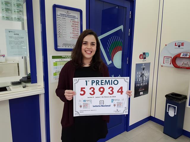 Vendido en la administración de la calle Ramón y Cajal de Albacete el primer premio de la Loteria Nacional de ayer