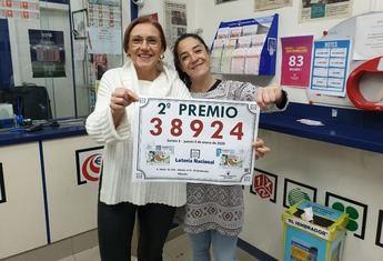 Vendido en Albacete, en 'El Sembrador', el segundo premio de la lotería del jueves