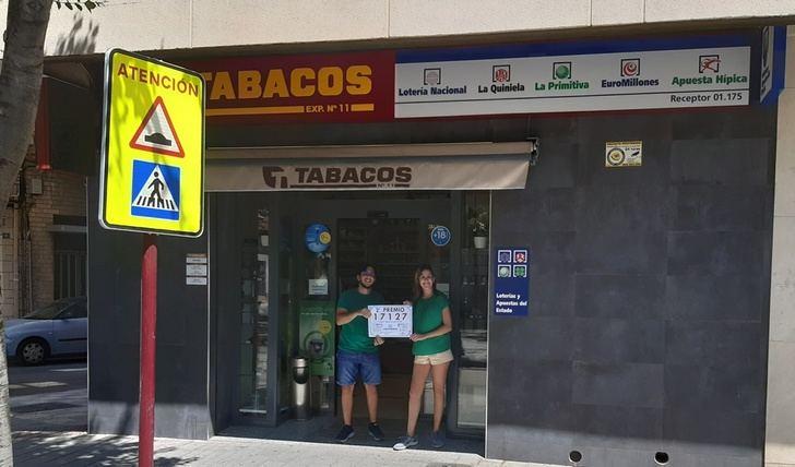Vendido en Albacete parte del segundo premio de la lotería del sábado