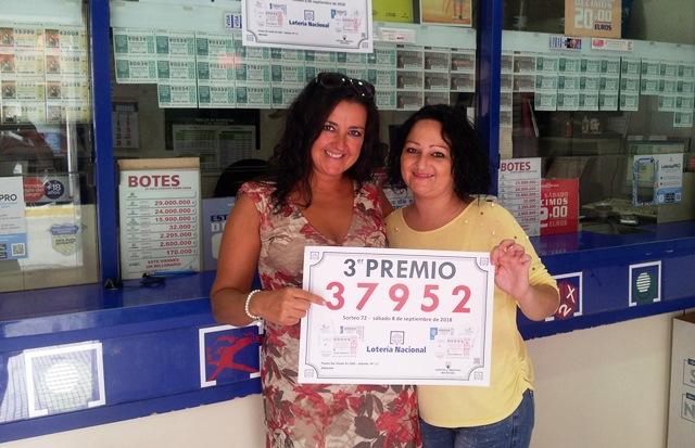 La Lotería Nacional se 'suma' a la Feria de Albacete con el tercer premio en la administración 11, en la calle Albarderos
