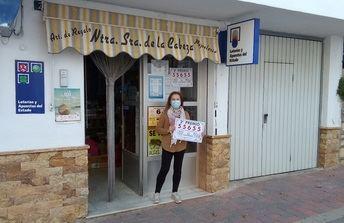 Un 'pellizco' del segundo premio de la Lotería Nacional se fue para Nerpio (Albacete)