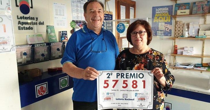 La Lotería del Jueves deja el segundo premio en Ontur (Albacete)