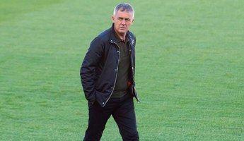 """Lucas Alcaraz se muestra """"optimista"""" pese a que el Albacete solo ha sumado un punto en cuatro partidos"""